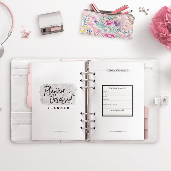 100+ Silver Printable Planner Pages